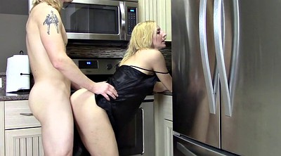 Kitchen, My mom, Mom kitchen, Creampie mom, Milf kitchen, Kitchen mom