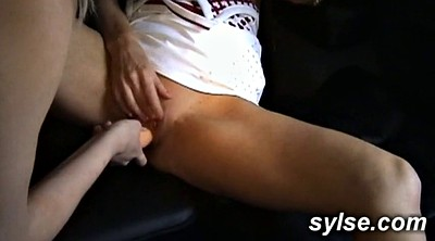 Amateur threesome, Flash car, Car flash