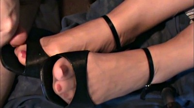 Shoe, Nylon, Stocking feet