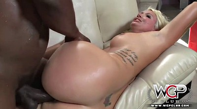 Big booty, Layla, Creampie interracial
