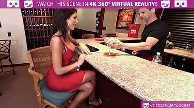 August ames, Bar, Class, Tits vr, Pov cowgirl