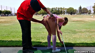 Shorts, Golf, Teasing