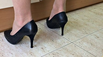 Heels, Spy, My wife, Spy cam