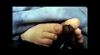 Black foot, Ebony feet, Black footjob