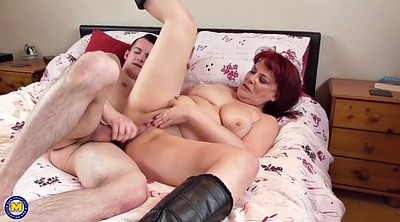 Granny, Mom seduce, Mom & son, Son mom, Son & mom, Mom seducing