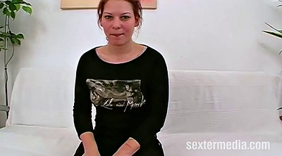 Interracial anal, German casting
