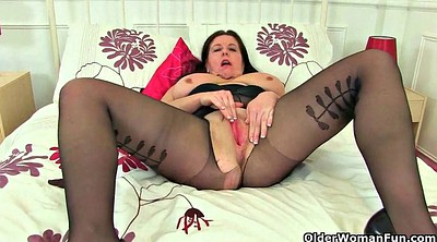 British mature, Milf curvy