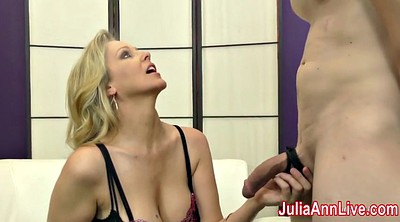 Julia ann, Julia, Foot slave