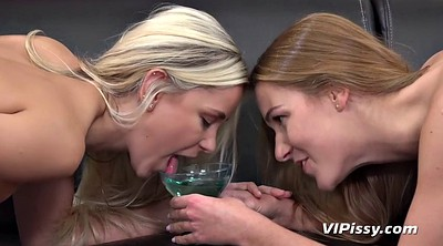 Two girls, Piss party, Lesbians pissing
