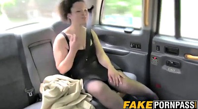 Doggystyle, Chubby pussy, Big tits taxi