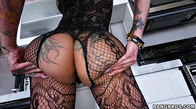 Solo big ass, Fishnet solo, Fishnet