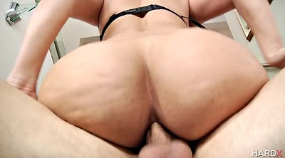 Anal orgasm, Mercedes, Bouncing, Buttocks