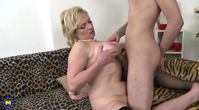 Old mature, Milf and young boy, Milf and boy