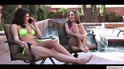 Kimmy granger, Leah gotti, Group sex, Leah