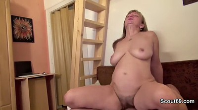 Mature milf, First time, Anal mom