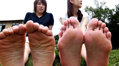 Asian feet, Barely, Asian foot
