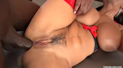 Lisa ann, Interracial anal