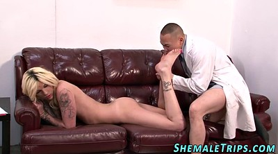 Shemale cum, Tgirl, Shemale facial