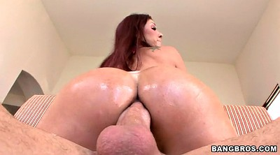 Close, Oil anal, Tiffany mynx, Close up ass