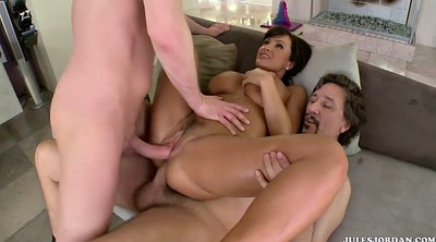 Lisa ann, Milf anal, Anal dp, Dp group, Anal group