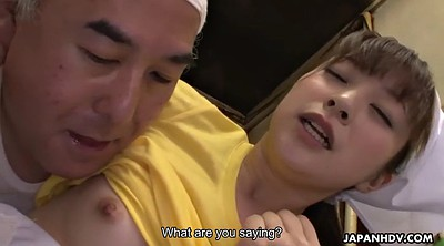 Dildo, Boss, Japanese dildo, Japanese orgasm, Japanese boss, Waitress