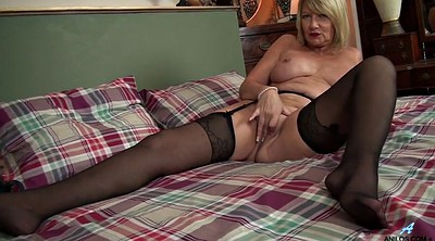 British, Mom mature, Granny masturbation