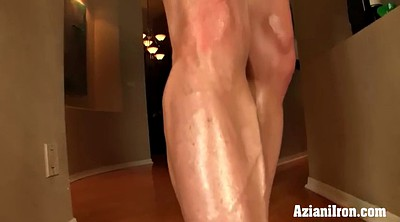 Sex, Girl solo, Strong, Muscle girls, Muscle girl, Mature dildo