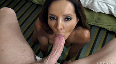 Milf, Throat, Rimmed, Latina big ass, His ass