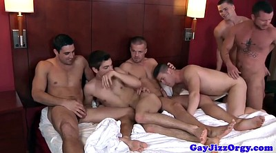 Group orgy, Group gay