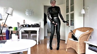 Boot, Sissy, Leather