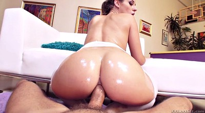 Big ass oil anal, Balls