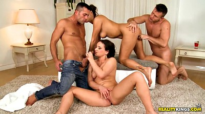 Czech, Foursome, Funny, Melons