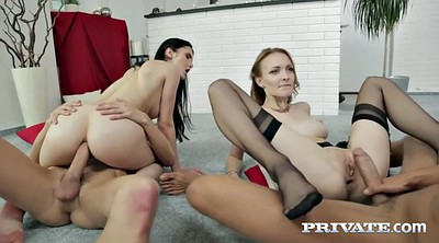 Crystal greenvelle, Crystal, Czech group, Foursome, Russian group, Ruined