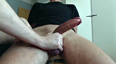 Gay bdsm, Jerking off