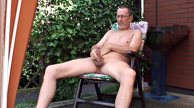 Granny solo, Outdoor naked, German solo, German granny