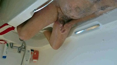 Caught masturbating, Dad shower, Bathing
