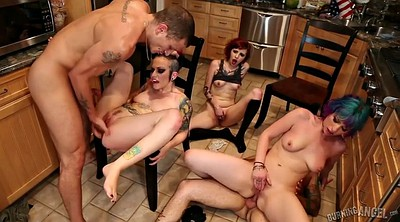 Group anal, Gay group sex, Lucia, Hairy orgy, Anal group