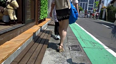 Sexy, Asian voyeur, Walking