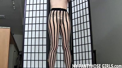 Masturbation pantyhose