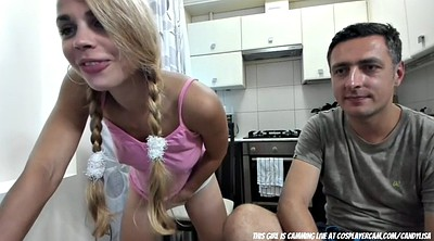 Teen webcam, Daddy daughter