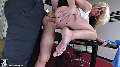 Office foot, Fucking foot, Alena croft