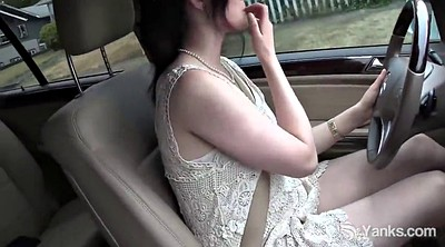 Car, Savannah, Sly, Car masturbation