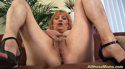 Matures, Hairy mom