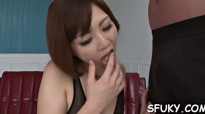 Asian, Strip, Japanese dildo, Japanese hot