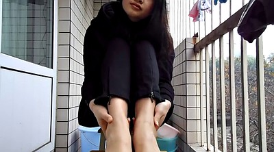 Chinese teen, Chinese foot, Chinese feet, Asian foot, Sole, Asian feet