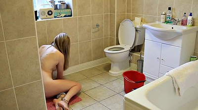 Toilet, Young girl, Nudes