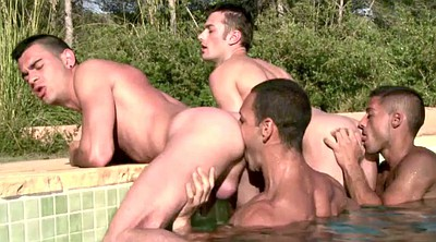 Foursome anal, Anal group, Double gay, Assholes