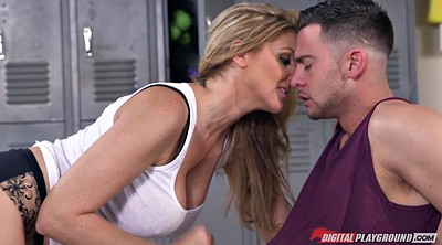 Julia ann, Ball sucking, Sucking balls