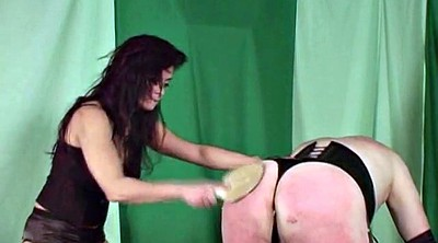 Spanking, Crossdresser, Paddle, Paddled