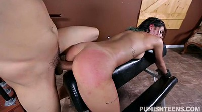 Small girl, Gina, Gay spanking, Spanking gay